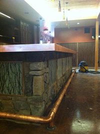 Custom Bar with backlighting